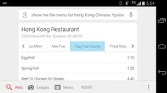 Google's 'show me the menu' search brings the most important restaurant info up first