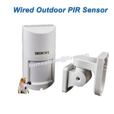 110.00$  Watch now - http://ali3j0.shopchina.info/go.php?t=32541887538 - 4pcs/lot Pet Friendly Wired Outdoor Infrared Microwave Double Detector for Wired House Alarm Systems,Sensitivity Adjustable 110.00$ #buyonlinewebsite