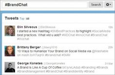 15 Essential Twitter Chats for Social Media Marketers    Mashable named us!  http://brandchat.info  created by http://buzz2bucks.com