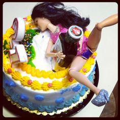 the perfect birthday cake 21st Birthday, Birthday Ideas, Birthday Cake, Barbie Funny, Party Like Its 1999, Cakes, Desserts, Tailgate Desserts, Deserts