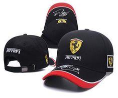 Ferrari Embroidered logo snapback Hat Snapback Hats 27f8ac18c08b