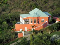 Villa Alamandra is a single family home on Turtle Beach with 180 degree views of the Caribbean and sister island Nevis with it's beautiful 3,000 foot Mt. Nevis 2 miles across the sea. A 2 minute walk will take you to ...