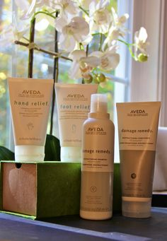 Some of my favorite Aveda products
