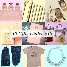 50 Great #Holiday Gifts Under $50! #holidaygiftguide via @Nicolette Mason
