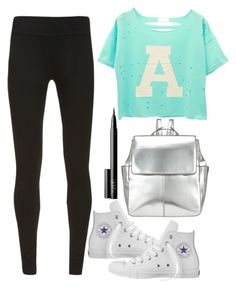 """""""Untitled#1239"""" by mihai-theodora ❤ liked on Polyvore featuring Mint Velvet, Converse, Kin by John Lewis and NARS Cosmetics"""
