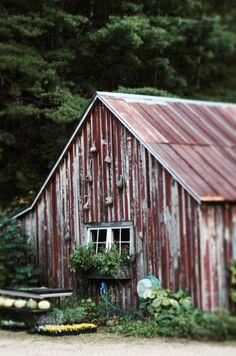 .I love old barn wood!