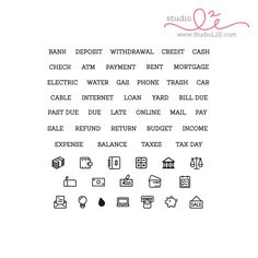 Financial Plans stamps