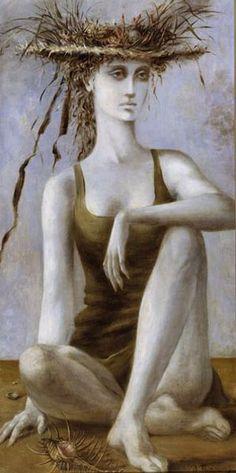 Dorothea Tanning - Beyond the Esplanade  1940