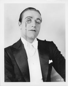 James Hall in Ritzy (1927), photographed by Eugene Robert Richee