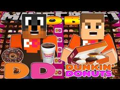 Minecraft - Donut the Dog Adventures -DUNKIN DONUTS w/LITTLE DONNY!!!! - YouTube