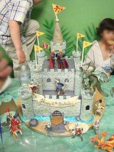 Knight's Castle Cake