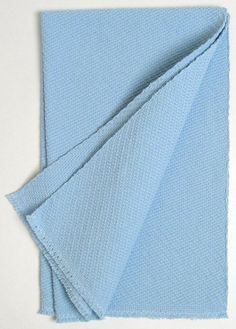 extra-thick towel in baby blue twill