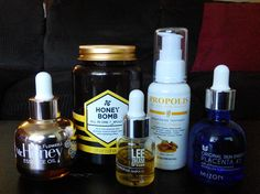 Korean serums and ampoules