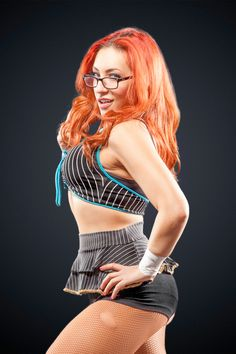 Female wrestler Veda Scott