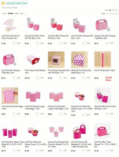 Cute Valentine's Day inexpensive boxes and packaging via Kara's Party Ideas Shop! karaspartyideas.com/shop #valentines #party #supplies #boxes #party