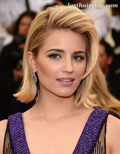 Hair Trend: Celebrities' Half Updo #CelebrityHaircuts
