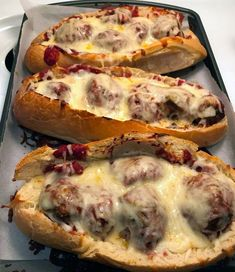Meatball Boats Beef Recipes, Cooking Recipes, Yummy Recipes, Dinner Recipes, Hamburger Recipes, Lemon Recipes, Asiago Cheese, Meat Sauce, Pizza