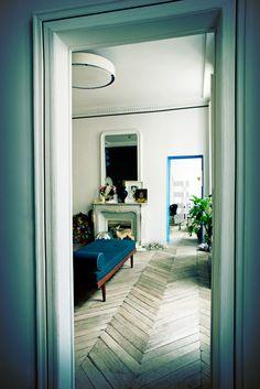 A beautiful Parisian interior with a twist
