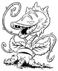zombie creepy coloring page | zombie coloring | pinterest