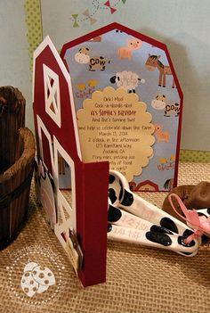Farm Animal House - Handmade by Odette, LLC