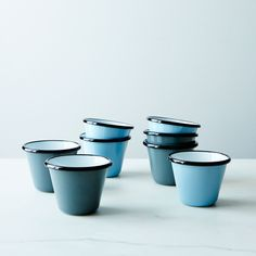 Porcelain Enamelware Stacking Cups on Food52