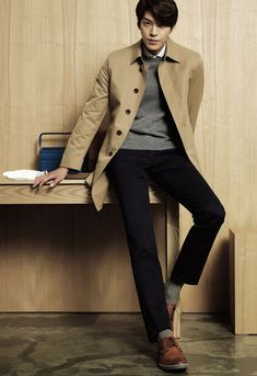 More SIEG F/W 2014 Visuals Feat. The Fantastic Kim Woo Bin | Couch Kimchi