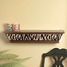 Animal Print Shelf - TerrysVillage.com