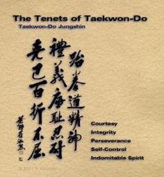 Taekwon-do, Martial Arts