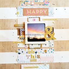 Crate Paper Craft Market Double-Sides Cardstock Textures - De nummer 1 in scrapbooking, art journal en mixed media