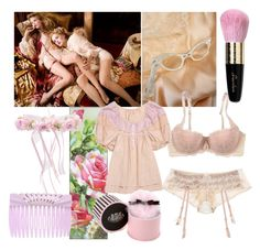 """""""Boudoir"""" by bubblegumbabydoll ❤ liked on Polyvore"""