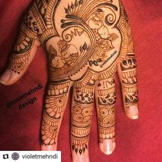 #follow@hennafamily #hennafamily #Repost @violetmehndi  Check out @rosemehndi ! This is my recreation of @rosemehndi 's design. Congrats on 20k! You deserve it  #henna #mandala #mehndi #mehendi #mehdi #mendi #mehendiart #freehand