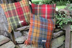 £38.00  Handmade Tartan Cushions http://www.onemoregift.co.uk/26_28-cushions