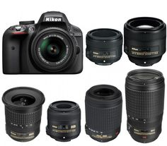 Nikon D3300 is an entry-level APS-C DX format DSLR camera released in 2014. Nikon D3300 replaced the Nikon D3200 with the new EXPEED 4 image processor, othe