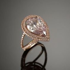 Famous Rings: Ernest Cassel Pink Diamond Ring