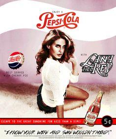 Lana Del Rey #LDR #Cola