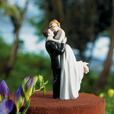 If a cake is involved- none of this normal topper business