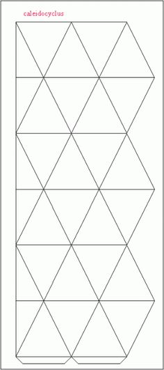 paper model of a hexagonal-kaleidocycle Art For Kids, Crafts For Kids, Arts And Crafts, Flextangle Template, Templates, Math Art, Paper Crafts Origami, Paper Folding, Fun Activities For Kids