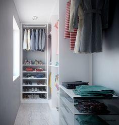 Wardrobe - Garderoba; interior design architect Marcin Śliwiński Poland;  https://www.facebook.com/architectmarcinsliwinski?fref=ts