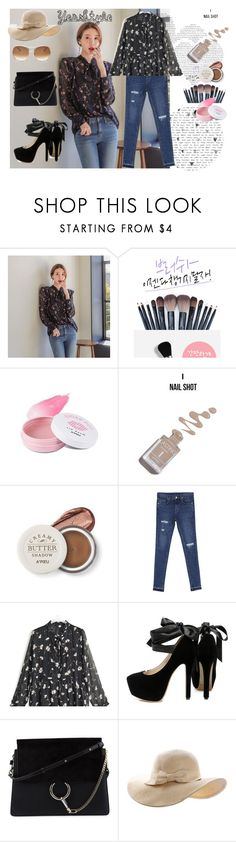 """YesStyle"" by selmabjelic ❤ liked on Polyvore featuring Seoul Fashion, Chlo.D.Manon, Goroke and Chloé"