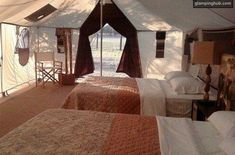 @Karen Hawkins  - MY Idea of camping!!  Glamping Texas