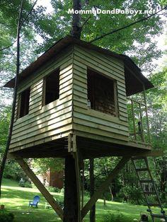 DIY Treehouse Part #4