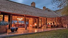 lodges | Sabi Sands Game Reserve - Singita Ebony Lodge - Sabi Sand Lodges...