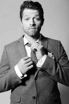 Misha Collins. It is impossible to find this man unattractive.