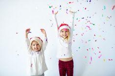 happy little children stock photo