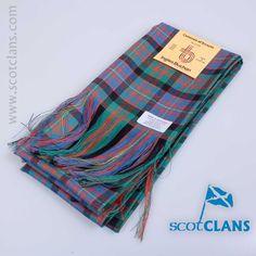 Wool tartan sash in Cameron ancient tartan - from ScotClans