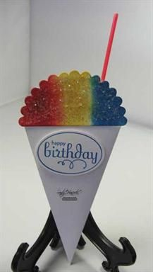 snow cone card - cool!