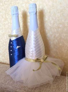 Купить Cвадебное шампанское - шампанское на свадьбу, свадебные аксессуары, шампанское свадебное, шампанское в подарок