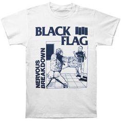 Black Flag Nervous Breakdown T-shirt Medium