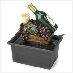 Winery Indoor Table Top Water Fountain Home Decor Gift [Kitchen]