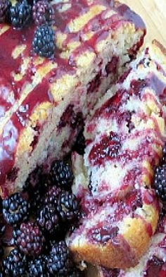 WILD BLACKBERRY BREAD- I made this with Dad's fresh blackberries in June 2014. It was delicious!!! I only cooked it for an hour, and it was cooked all the way through! Will definitely make this again!
